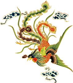 Asian Artwork Chinese language Phoenix by Zehda. See more at the photo Phoenix Chinese, Asian Artwork, Chinese Artwork, Chinese Paper Cutting, Chinese Element, Chinese Dragon Tattoos, Phoenix Art, Chinese Embroidery, Asian Tattoos