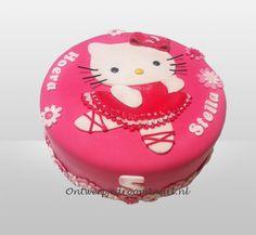 Kindertaart Hello Kitty