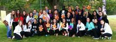 The sister of Sigma Kappa at UMass participated in the Sigma Kappa, Theta, Walk To End Alzheimer's, Alzheimer's Association, Her Campus, Alzheimers
