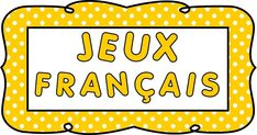 JEUX FRANÇAIS, JEUX LECTURE, JEUX GRAMMAIRE, JEUX CONJUGAISON French Teaching Resources, Teaching French, Great Websites, France, Education, School, Games, Word Reading, Reading Games