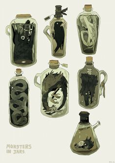 "captainhanni: "" a lil inventory! Harry Potter Plakat, Art Et Illustration, Illustrations, Art Sketches, Art Drawings, Site Art, Arte Obscura, Arte Sketchbook, Prop Design"