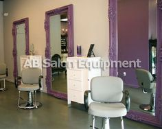 Salon. Fab Mirrors!