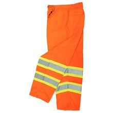 Radians Hi Vis Orange Surveyor Pants Class E SP61-EPOS | Hi Vis Safety Direct will beat any other price , we are #1 in Hi Visibility Items .