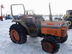 Kubota L2850 tractor salvaged for used parts. This unit is available at All States Ag Parts in Black Creek, WI. Call 877-530-2010 parts. Unit ID#: EQ-25424. The photo depicts the equipment in the condition it arrived at our salvage yard. Parts shown may or may not still be available. http://www.TractorPartsASAP.com