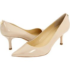 Ivanka Trump shoes in Sand Patent leather. $120 at Zappos.com.