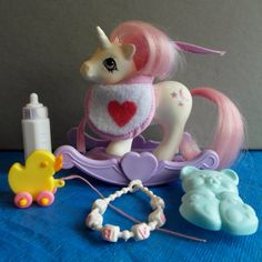 Vintage My Little Pony Baby Pony Moondancer by CrazyCatLibrarian, $25.00