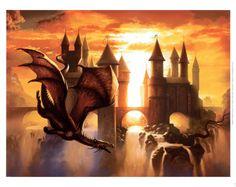 Sunset Dragon.  Ciruelo.