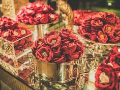 Forminha floral para doces finos