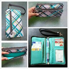 Perfect Cents Wallet > Click Picture to Shop Miriam's Website
