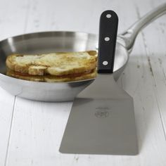 I love the Wide Stainless-Steel Spatula on Williams-Sonoma.com