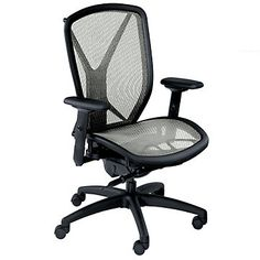 Beau Ergonomic Chair With Mesh Seat And Back