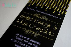 Great Gatsby Art Deco Insipired Engagement Party by IfOnlyLolaLee