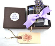 Three Piece Gift Set - Thank you Gift - Teacher's Hostess Gift - Bridesmaid Spa Gift Set - Gift Set Victoria, BC Vancouver Island Canada
