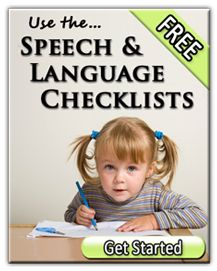 Free Speech & Language Checklists from Home Speech Home