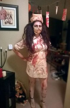 Scary Nurse Halloween Costume!