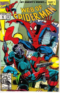 Web of Spider Man 97  February 1993   Marvel Comics   Grade