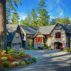 wooded highlands by design guild homes craftsman exterior seattle design guild homes - Design Guild Homes
