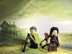 Wait for season 8 of AMC's The Walking Dead with Lego! Carol Brickletier and Daryl Brixton. Best bromance on the show 🤘🏼