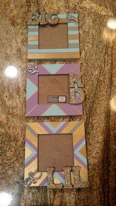 Kappa Delta sorority picture frame big little clue week