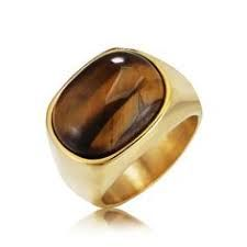 Vintage Tiger Eye Stone Mens Rings Titanium Steel Finger Rings Gift for Men is worth buying, see more cheap wedding rings, engagement rings on NewChic now. Opal Rings, Stone Rings, Stein Gold, Chakra Du Plexus Solaire, Titanium Rings For Men, Cheap Wedding Rings, Gold And Silver Rings, Magic Ring, Eye Stone