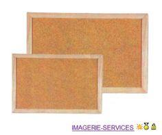 pizarra corcho 60x90 marco madera chinches de regalo oferta!