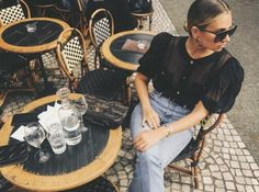How to holiday in Paris like a fashion girl : Danielle Bernstein Image credit: Instagram/weworewhat