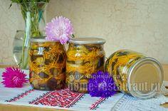 Баклажаны на зиму с морковью, луком и чесноком «Полосатики» - Домашний Ресторан