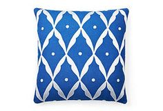 Love the colors of this 20x20 Square Sultan Pillow, Cobalt. Getting it 60% off from OneKingsLane ;)