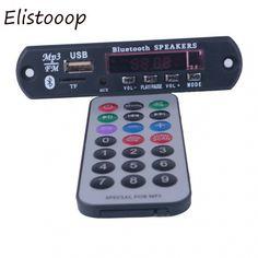 Elistooop Bluetooth Decoder Board Module MP3 Player FM LED Call APE FLAC WMA WAV decoder board USB TF AUX 3.5MM Price: 9.95 & FREE Shipping #staysafe #practicesafetyguidlines #fashion #sport #tech #lifestyle