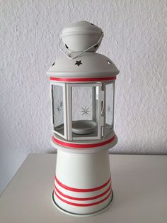 diy - anleitung fensterbild fietes leuchtturm. strand, urlaub und, Hause ideen