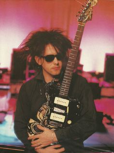 Robert Smith of 'The Cure'