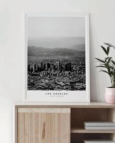 Los Angeles City – Skanndi | Map Wall Art | Wall Art Decor | Printable Wall Art | Wall Art Prints | DIY Wall Decor |
