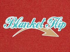 BLANKET FLIP a great team building game and challenge for small groups or leaders at a retreat.
