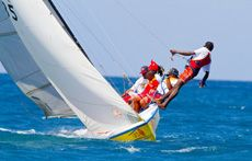 Work boat regatta 2013 for the Grenada Sailing Week 31st January - 5th February