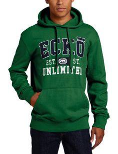 Ecko Unltd Mens Crown Lion Popover Hoodie Sweatshirt