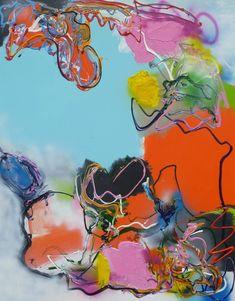 Love is All, schilderij van Marten Alkema | Abstract | Modern | Kunst