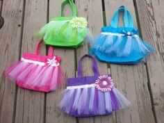 Princess Party Bag  Birthday  Frozen Elsa by craftingballerinamom, $15.00