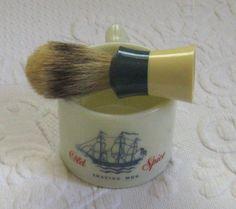 Vintage shaving mug . old spice shaving mug . shaving mug . old spice . shulton old spice mug by vintagous on Etsy