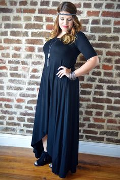 Use code ZZS820 for 10% off plus shipping is always free! ZigZagStripe.com #boutique #zigzagstripe #affordable #clothing #fashion #zzs #coupon #freeshipping Black Everday Dress – The ZigZag Stripe