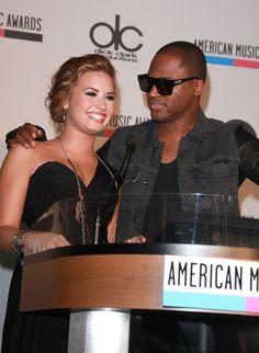 Demi Lovato and Taio Cruz announce American Music Awards noms