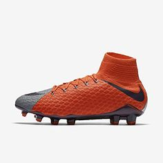 huge selection of 4e6c4 c64cc Nike Womens Hypervenom Phatal III Dynamic Fit FG Cleats Cool Grey 9    More  info