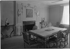 Elsie de Wolfe [residence]. Georgian dining room 1936