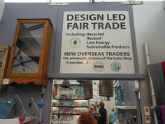 New Overseas Traders' Fair Trade sign Life Changing, Fair Trade, Home Gifts, Design