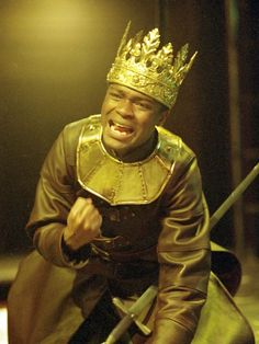 One step closer to the real King Henry VI. David Oyelowo became the first black actor to play one of Shakespeare's kings in a Royal Shakespeare Company production, in an acclaimed 2000 staging of 'King Henry VI. Royal Shakespeare Company, Black Actors, Othello, Out Of Africa, King Henry, White People, European History, A Decade