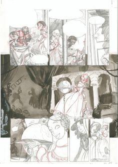 Página 11: lápiz  y aguada. 300€ David Belmonte ©