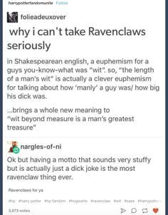 ideas for quotes funny harry potter ravenclaw Images Harry Potter, Harry Potter Houses, Harry Potter Facts, Harry Potter Universal, Harry Potter Fandom, Hogwarts Houses, Slytherin House, Slytherin Pride, Archie Comics