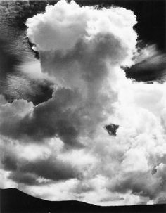 Edward Weston. Cloud. New Mexico. 1933.