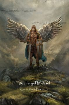 Archangel Michael - Available from www.angelcanvas.com