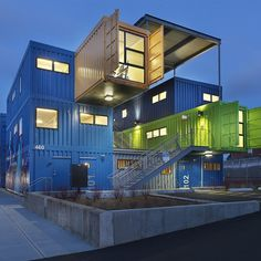 Old Shipping Containers Given New Life as Stylish Eco-Friendly Homes