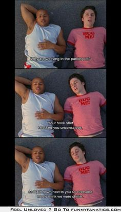 True friendship hah I love Turk and JD Turk looks just like Theo! Dani Martinez, Turk And Jd, Look At You, Just For You, Funny Quotes, Funny Memes, Tv Quotes, Movie Quotes, Tv Memes